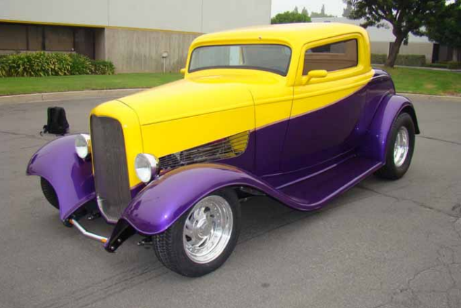 1932 Ford 3-Window steel bodied Coupe