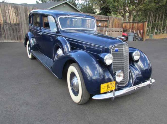 1936 Lincoln Model K V-12