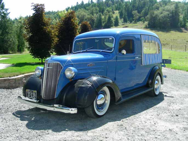 1937 Chevrolet Canopy Express