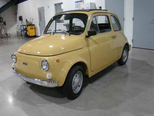 1974 Fiat 500 R